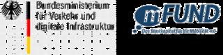 Logo vom BMVI und mFund