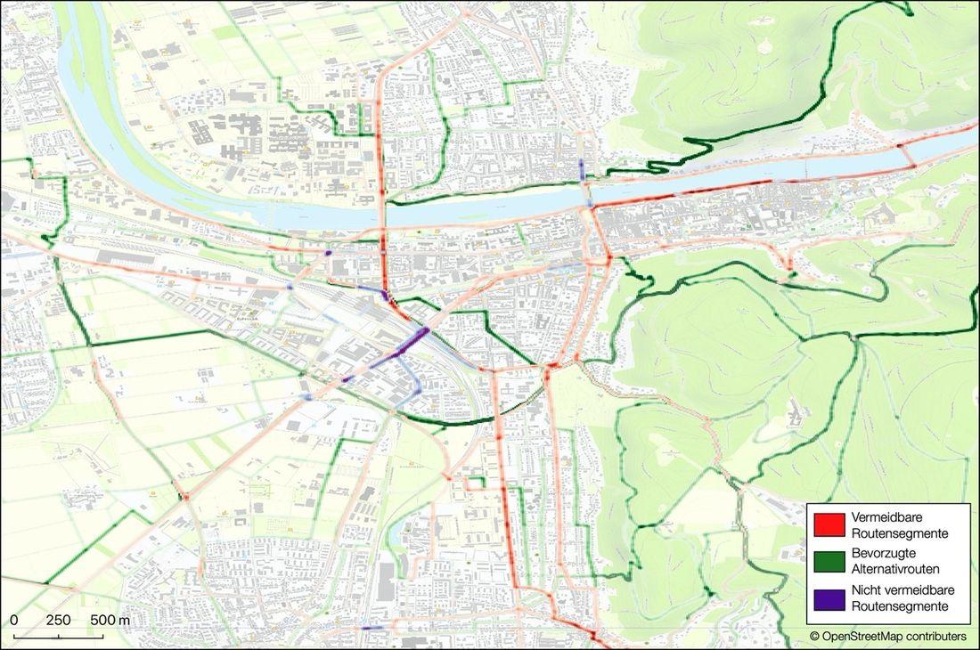 Karte Radfahren